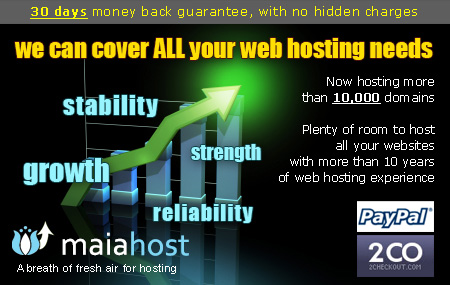 Reliable Hosting Company