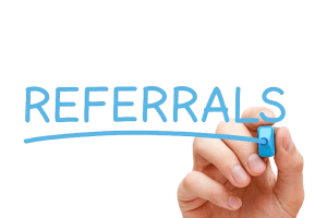 free hosting via referrals