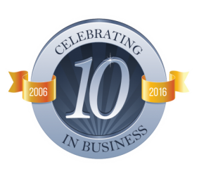 Celebrating 10 Years of Web Hosting Services